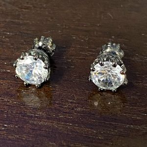 Juicy Couture White Sapphire Earrings